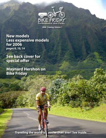 Bike Friday Catalog cover ralph dobson