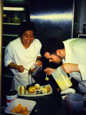 Lynette Chiang at Bruce Mulcahy's Restaurant